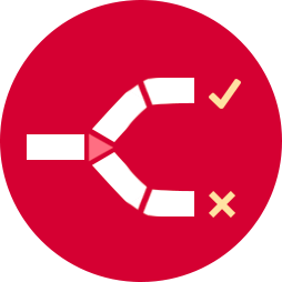 An Icon Illustrating that Square Wheel Group Utilizes Effective Processes